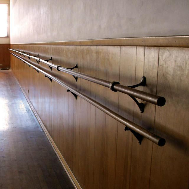 Learn how to make a ballet barre for practicing ballet at home.