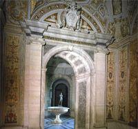 Museo Pio Clementino - Vestibolo Quadrato e Gabinetto dell'Apoxyomenos