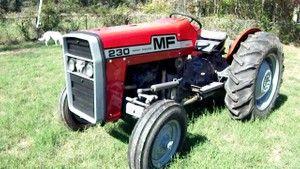 mf230 tractor