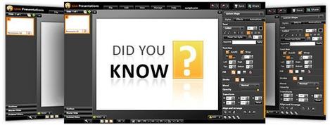 Live Presentations - The Best Online Presentation Software