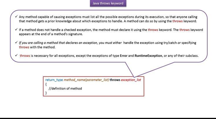 ramram43210,J2EE,Java,java tutorial,java tutorial for beginners,java tutorial for beginners with examples,java programming,java programming tutorial,java video tutorials,java basics,java basic tutorial,java basics for beginners,java interview questions and answers,java basic concepts,java basics tutorial for beginners,java programming language,java exception,exception handling in java,java exception handling tutorial,throws keyword