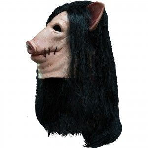 Saw Pig Mask Mask  #rockabilia #merchandize #merch #music  #entertainment #movies #tv #halloween #comics #masks #party #humor #horror #saw