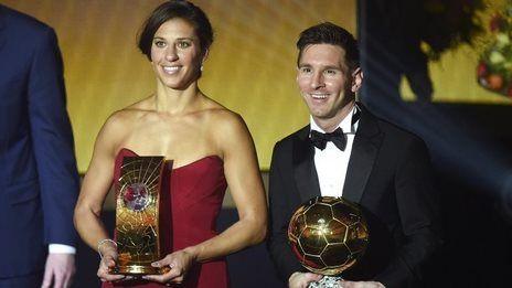Messi wins fifth Ballon d'Or award