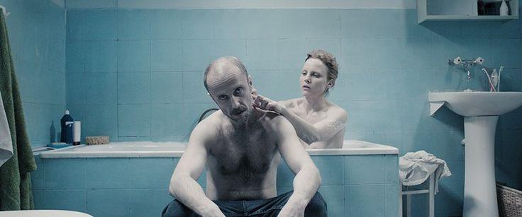 Scene from United States of Love directed by Tomasza Wasilewski, 2016.. Pictured: Julia Kijowska, Łukasz Simlat, photo: Andrzej Wencel / Agencja Promocji Manana