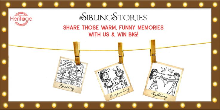 We all have memories with our brother or sister that make us laugh till date. Have an interesting or funny brother sister story to tell?Any childhood mischief? Then tell us in the comments below and stand a chance to win Deepkala & SUITLTD gift vouchers. #SiblingSeason #SiblingStories #RakhiContest