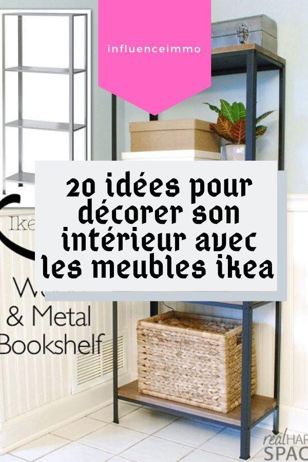 20 Projets Ikea A Faire Soi Meme Qui Sont Magnifiques Etagere Sans Percer Ikea Mobilier De Salon