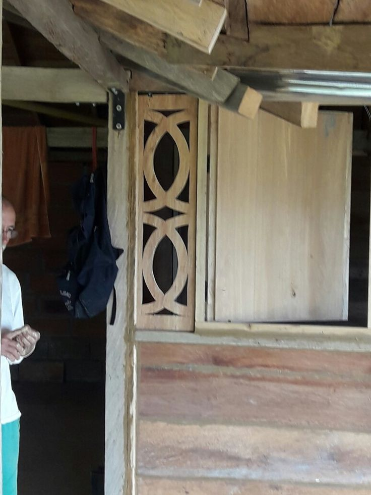 Calado 2 madera rustica