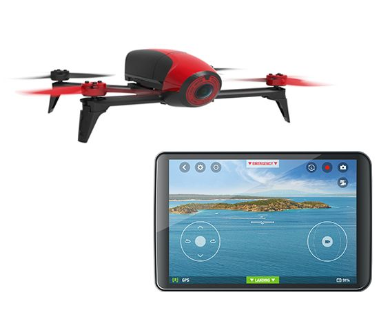 Quadcopter Parrot Red Bebop 2 Dual Band WiFi FPV Camera Drone 54999 View Our Large Selection