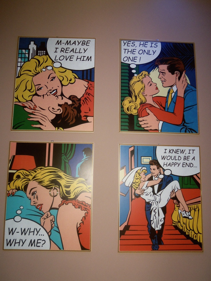 Love pop art! I found this at my new fav cafe spot!