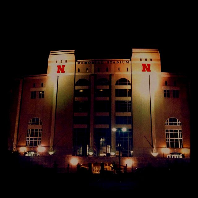 Memorial Stadium, Home of Husker Football I am and always will be a die hard Husker Fan!!! Nothing like watching the Huskers play in Memorial Stadium!!!