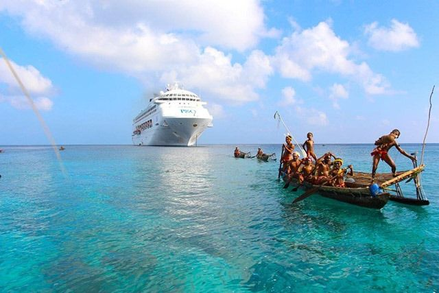 Experience pure paradise as you island hop in the Pacific www.iyctravel.com