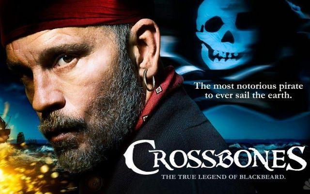 """Trailer di """"Crossbones"""": John Malkovich pirata Barbanera in una serie tv NBC #serietv2014 #crossbones #trailer"""