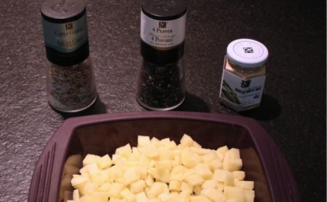 Garlic Potatoes w/ epicure steamer