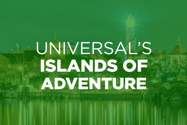 Around every bend is another epic adventure. Around every corner awaits another once-in-a-lifetime thrill. Take an unforgettable journey through the uniquely themed islands of Universal's Islands of Adventure.