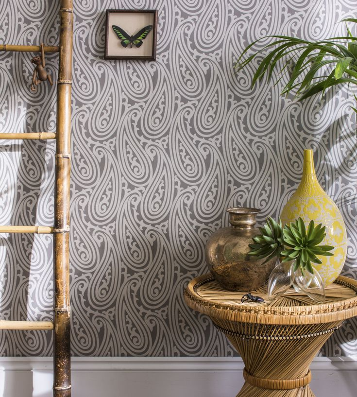 Paisley Wallpaper By Farrow U0026 Ball | Jane Clayton