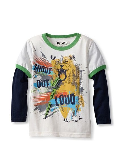 Freestyle Boy's Shout Out Loud Twofer Tee, http://www.myhabit.com/redirect/ref=qd_sw_dp_pi_li?url=http%3A%2F%2Fwww.myhabit.com%2F%3F%23page%3Dd%26dept%3Dkids%26sale%3DA1SQAZ3TOYNBPM%26asin%3DB00DMWCQ7S%26cAsin%3DB00DMWCQNC