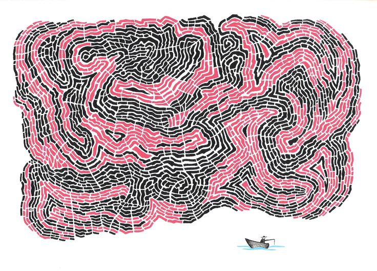 Heavy cloud doodle, Lars Overballe 2015