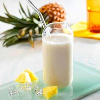 Milk shake ananas-coco
