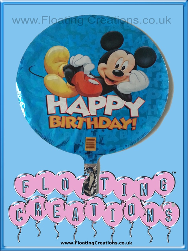 Mickey Mouse Happy Birthday Balloon https://www.facebook.com/balloonsglasgow