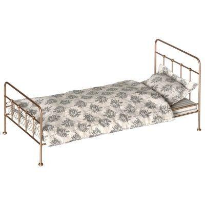 Säng till kaniner - medium - guld - Maileg (modellen större)