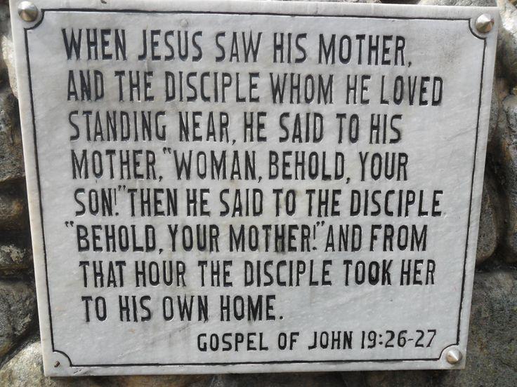 Jesus' 7 Last Words #3 John 19:26-27 | He has risen indeed ...