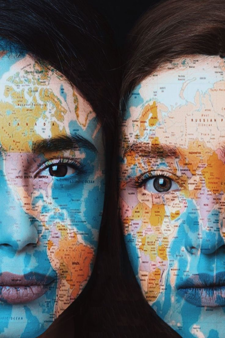 Map Double Exposure Tutorial How to Add the World to Your