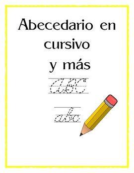 Hojas de trabajo en la cual se inicia con trazos, luego numeros, letras del abecedario pueden ir viendo como se incia la escritura , abecedario, palabras en cursivo. Consta de 103 paginas para trabajar.