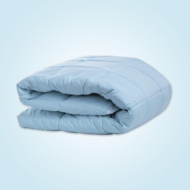 Nacreous Mattress Pad - Blue