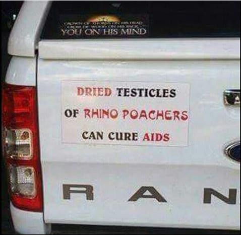 Only in Africa…