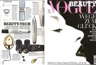 German Vogue coverage on Galvanic Spa  www.stevematilda.nsedreams.com  ID: US0479534