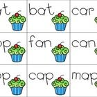"""Singular and Plural CVC Matching Cards  These cards were made for students to use while learning about adding an """"s"""" to a plural word.  Includes 36..."""