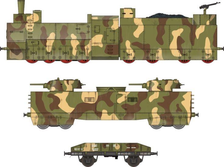 polish armoured train - Google Search
