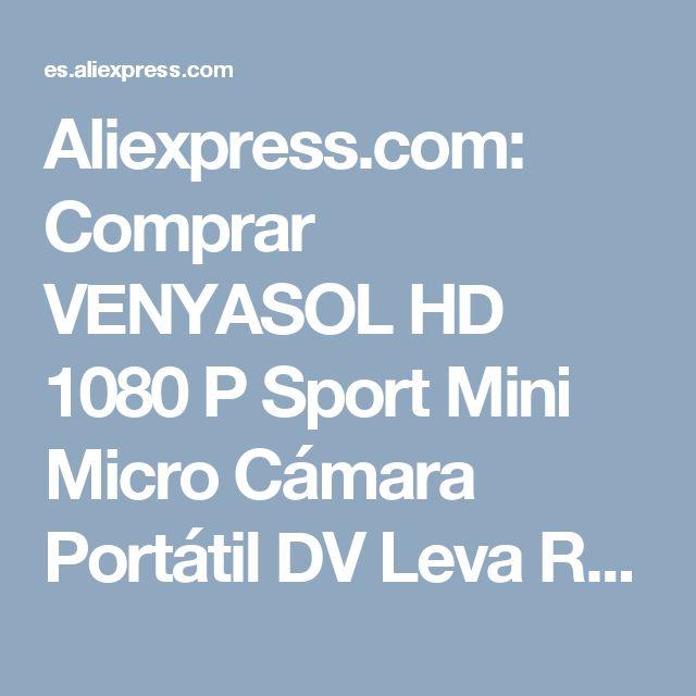 Aliexpress.com: Comprar VENYASOL HD 1080 P Sport Mini Micro Cámara Portátil DV Leva Redonda Pequeña Videocámara de Visión Nocturna Por Infrarrojos de Detección de Movimiento de small camcorder fiable proveedores en CB store
