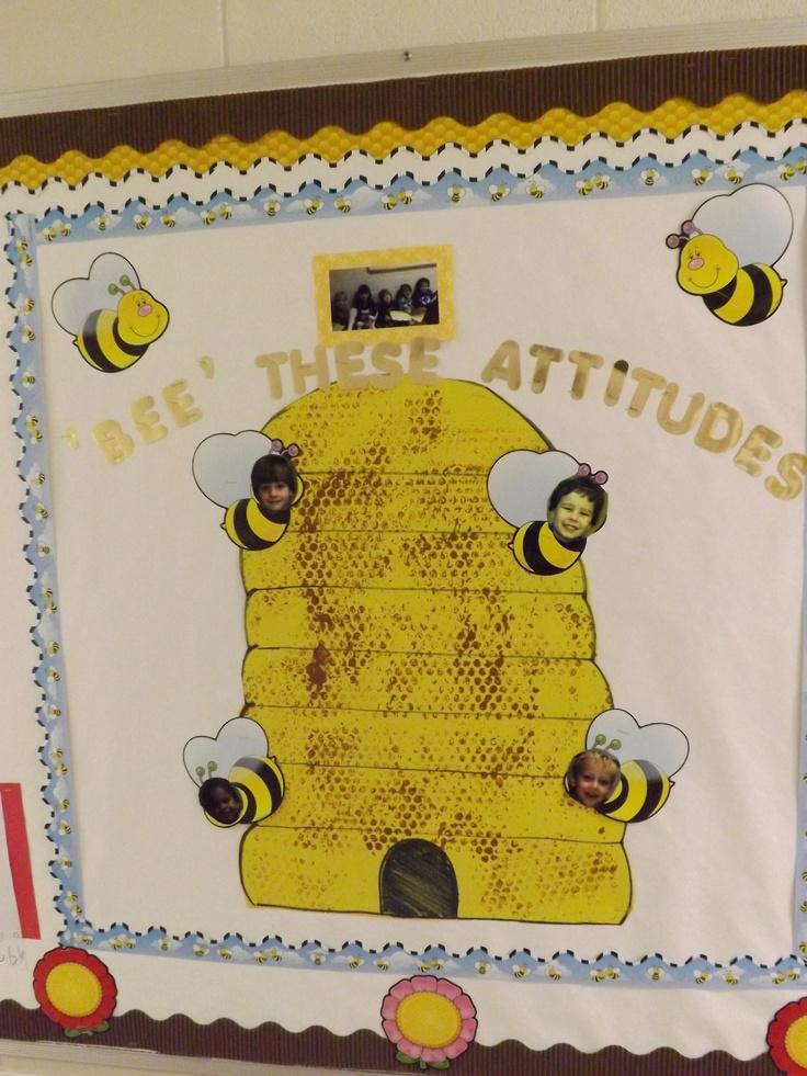 Bee These Attitudes Bible Bulletin Board Ideas