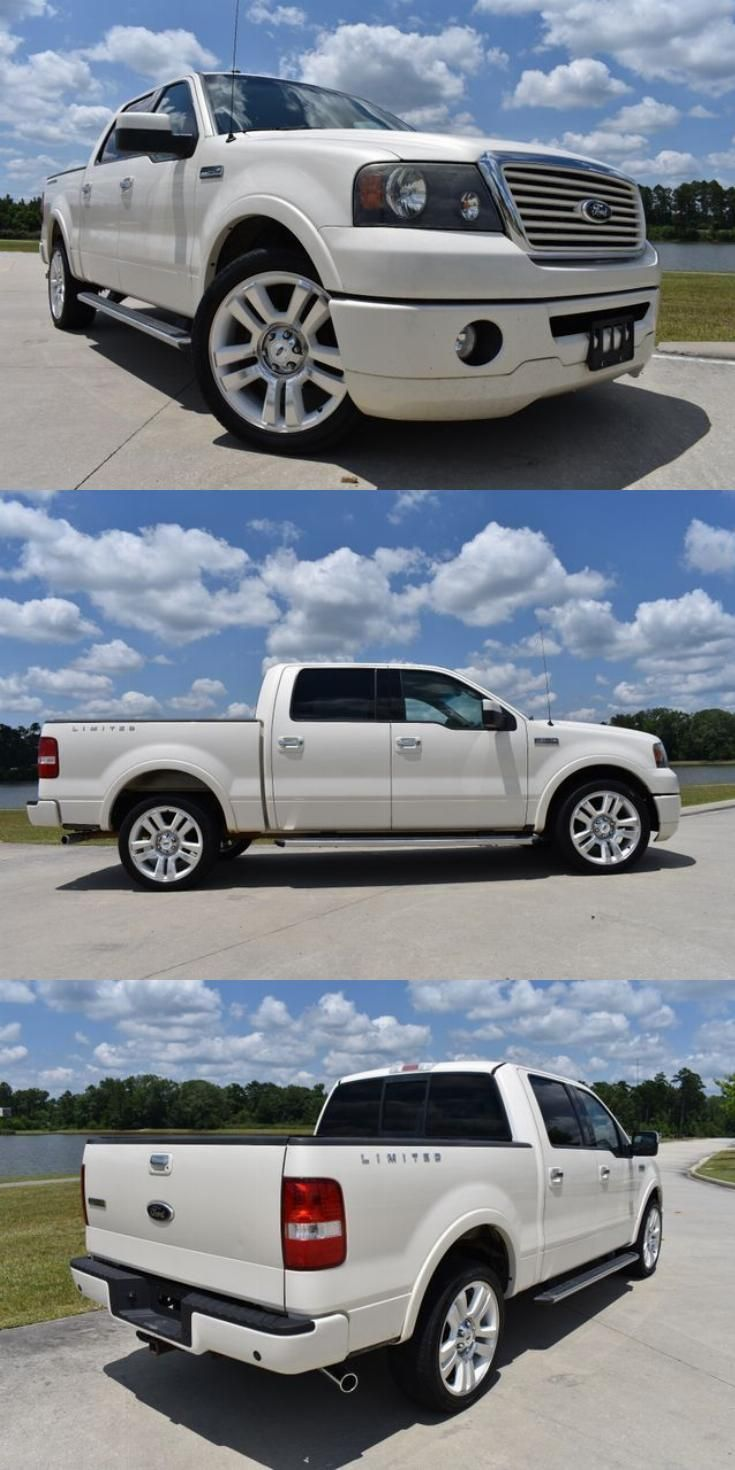 Limited Edition 2008 Ford F 150 Limited Pickup Ford F150 Ford F150 Crew Cab Ford Trucks F150