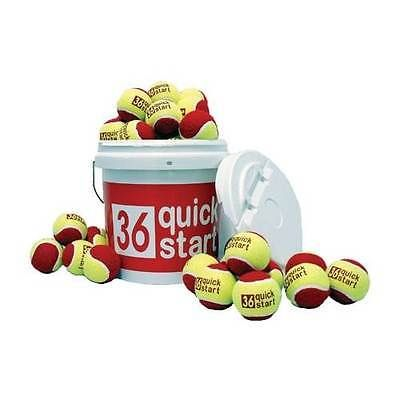 Balls 20870: Quick Start 36 Bucket With 30 Tennis Balls [Id 136549] -> BUY IT NOW ONLY: $65.46 on eBay!