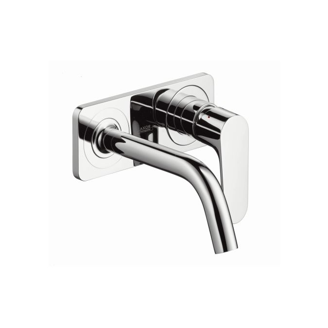 Hansgrohe Axor Citterio M - Single lever basin mixer for concealed installation with spout 167 mm and plate wall-mounted - must be expensive but is the only wall mounted option for Focus range