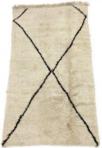 Kelim Marokkaanse Berber tapijt Beni Ouarain 235 x 130 cm
