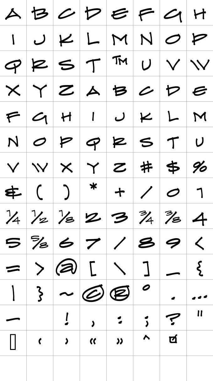 Architectural Lettering Practice Sheets Google Image Re...