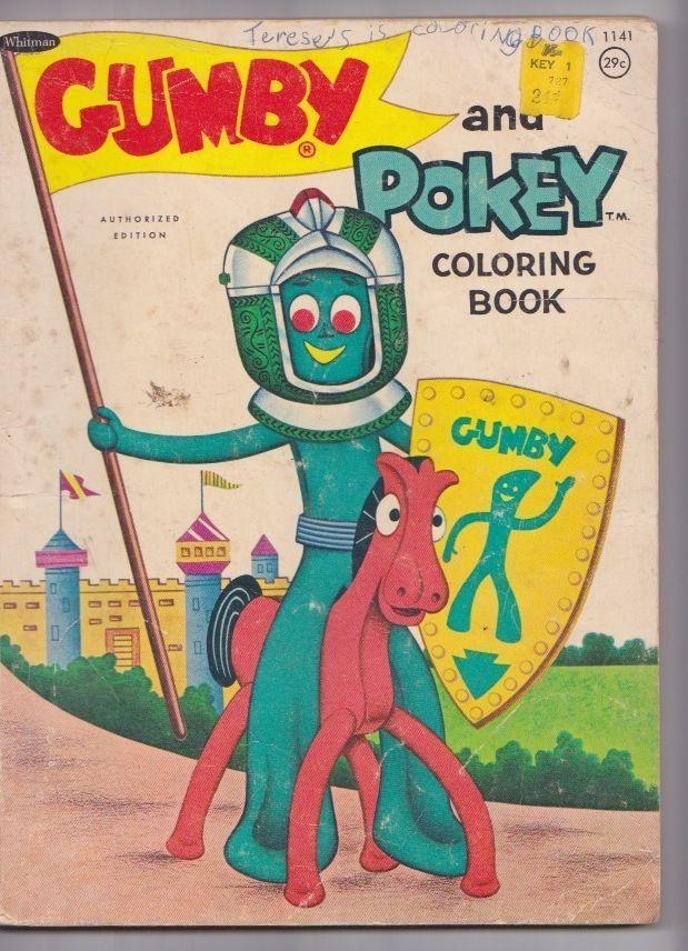 36 best color me: vintage coloring books images on Pinterest ...