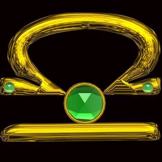 LIBRA, GOLD ZODIAC BIRTHDAY SIGN With Green Emerald  Gemstone in Black   #libra #astrology #astrologist #emerald #fashion #zodiac #birthday #zodiacalsigns #jewel  #gold #scale