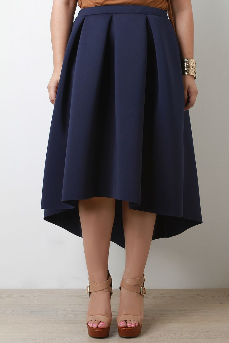 e065ed04933 Shop this A-line plus size skirt features a