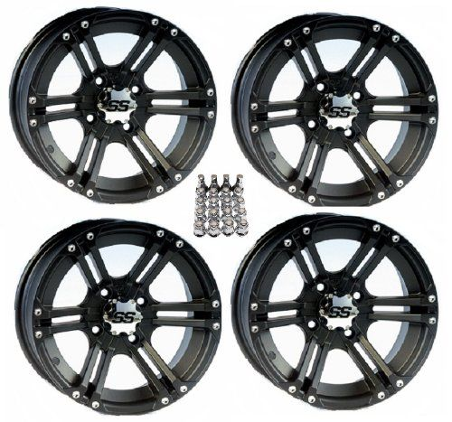 "Itp Ss212 Atv Wheels/Rims Black 14"" Polaris Sportsman Rzr Ranger (4), 2015 Amazon Top Rated ATV & UTV #AutomotivePartsandAccessories"