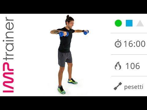 Esercizi Per Le Braccia: Pesetti e Corpo Libero Per Braccia Toniche e Snelle - YouTube