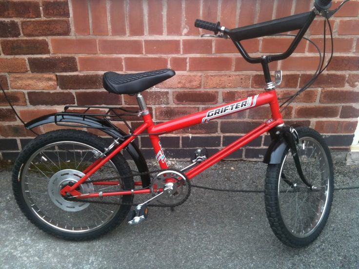 Raleigh Grifter - 2 of my friends had these whilst my parents made me continue riding a bike with a basket on the front.  Thanks parents!