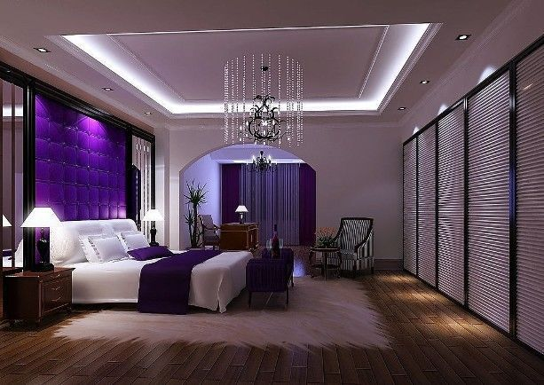 Purple Bedroom Ideas For Couples ~ Home Decor www.beachsidewhiterock.com