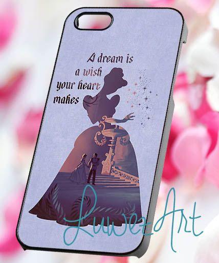 Cinderella quote  iPhone 4/4s/5 Case  Samsung Galaxy by LuwezArt, $15.00