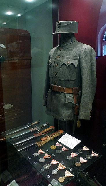 M1916 Austro-Hungarian Army infantry field uniform.
