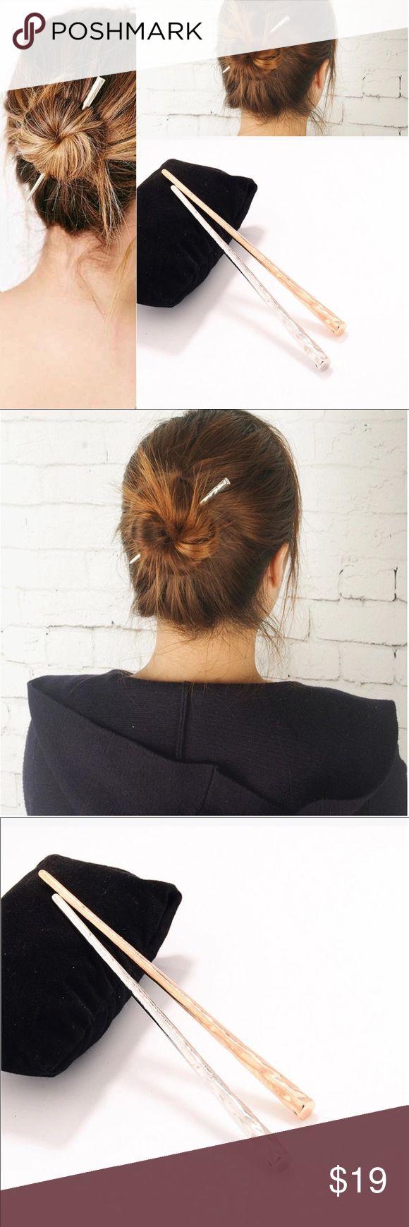 🛒Coming 1PCS Chopstick Hair Accessories Hairpin 1PCS Geometric Hair Clasp Alloy Chopstick Hair Stick Accessories Punk Hairpin Jewelry Queen Esther Etc Accessories Hair Accessories