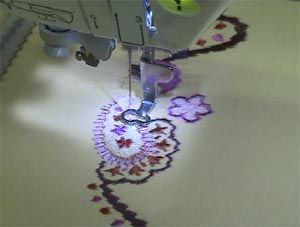 Embroidery on tshirts with comparisons of different stabilisers. This site really is the best!